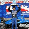 Franchitti Breezes To Texas Pole