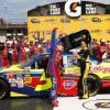 Mark Martin Refuses To Play The Fuel; Wins at Michigan