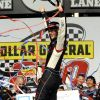 Logano Holds Off Busch To Get Nationwide Win