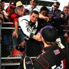 Hamlin Wins In Wild Finish At Martinsville