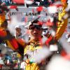 Kyle Busch Wins Cup Race; Johnson Loses It
