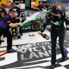 Hamlin In Command In Winning at Michigan