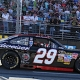 Late Charge Gives Harvick Martinsville Victory