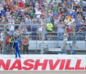 NASCAR Takes Its Act Back To Music City