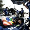 Things Get Racy During Practice At Indianapolis