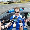 Keselowski About To Be Showered by Awards