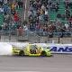 Crafton Hangs On To Win Kansas Truck Race