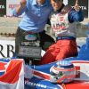 Sato Wins Pole In St. Pete