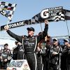 Sauter Survives To Win Talladega Truck Race