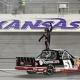 Busch Overtakes Kansas Curse; Wins In Truck