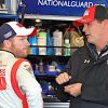 Earnhardt Jr. Leads, Then Falters At Kansas