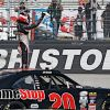 Jones Has Big Xfinity Pay Day At Bristol