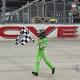 Suarez Wins Dover Xfinity Race