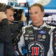 Harvick On Pole In Kansas