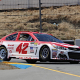 Larson On Pole At Sonoma