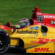 Hunter-Reay Wins Detroit Nightcap