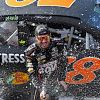 Truex Jr. Drives To Pole At 'Home' Kansas Track