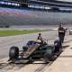 New Indy Car Chassis Put Through Paces At TMS
