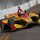 Indy Cars Trying To Get A Grip