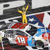 Busch Wins 600; Becomes Mastered Tracksman