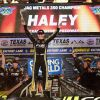Haley Streaks To Truck Win At TMS