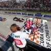 Rahal Keeps His Cool After Controversial Penalty