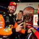 Truex Survives Wallburger To Win The 600