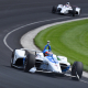 Rookie Rosenqvist Meets His First Wall At Indy