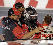 Jones' Win May Prolong His Career At JGR