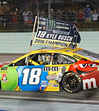 Busch Wins Cup Title; No Asterisk This Time