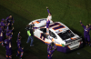 Hamlin Wins 500; Newman Survives Scary Wreck