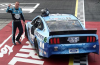 Harvick Leads NASCAR Back Into Racing
