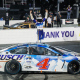 Harvick Opens Cup Playoffs With Darlington Win
