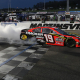 Truex Wins Martinsville Under Cover of Darkness