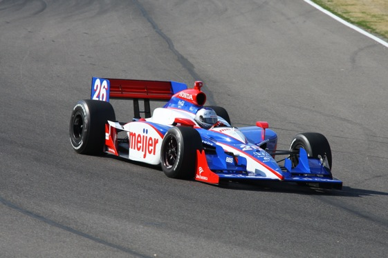 Photo courtesy of the Indy Racing League