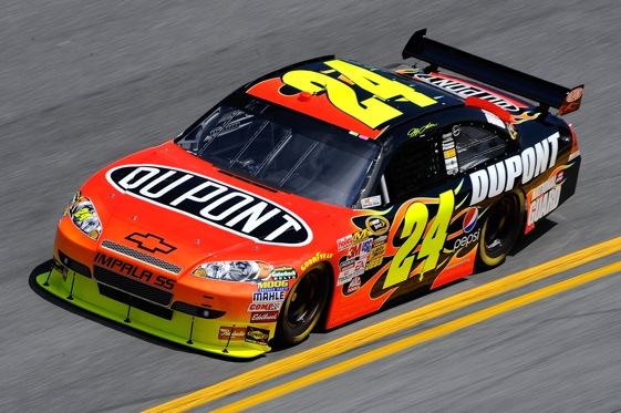 No. 24 DuPont Chevrolet (Jeff Gordon) (Photo Credit: Getty Images for NASCAR)