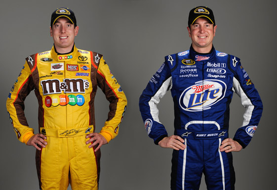(photo illustration by Anthony Bush; photo credit: Sam Greenwood/Getty Images for NASCAR)
