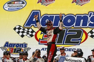 David Ragan found his first NASCAR victory at Talledega. (RacinToday photo by David Vaughn)