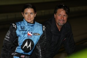 Danica Patrick will have team-owner Michael Andretti in here ear during races this season. Photo courtesy the Indy Racing League.