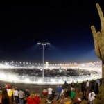 Teams and drivers love Phoenix in the spring for more than just cactus and sand. (Photo by Chris Graythen/Getty Images for NASCAR