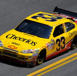 Clint Bowyer has left Jack and moved to Cheerios.   (Photo by Sam Greenwood/Getty Images for NASCAR)