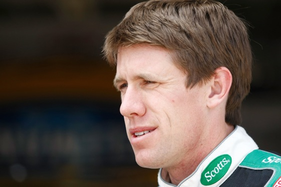 "Carl Edwards was just reviving the old ""Code of the West"" aspect of stock car racing. (Photo by Jonathan Ferrey/Getty Images for Texas Motor Speedway)"