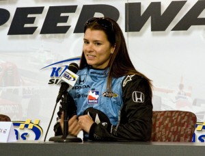 Danica Patrick interested in NASCAR?  (RacinToday.com photo by Tony Bush)