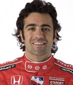 Dario Franchitti won Saturday night's IZOD IndyCar race at Chicagoland Speedway. (File photo courtesy of the IZOD IndyCar Series)