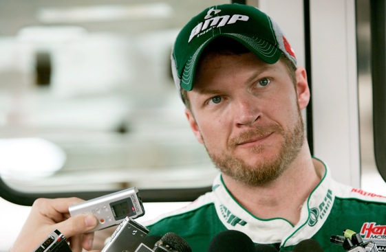 Dale Earnhardt Jr. credits Jimmy Means for much of his development as a human being. (Photo by Jerry Markland/Getty Images for NASCAR)