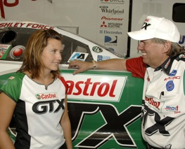 Ashley Force Hood . Their similarities don't stop there.