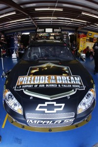 Ryan Newman is running a Prelude to the Dream paint scheme on his No. 39 Chevy Impala SS during this weekend's Aaron's 499 NASCAR Sprint Cup Series event at Talladega (Ala.) Superspeedway. (Photo Courtesy True Speed Communication)