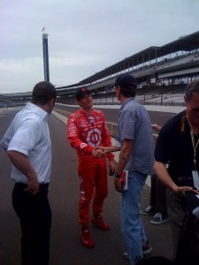 Scott Dixon, who met with RacinToday.com&#039;s John Sturbin for an interview the morning after winning last year&#039;s Indy 500, has a new domestic team this year.
