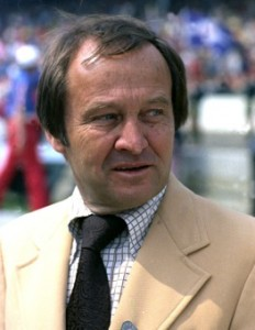 Jim McKay brought fans racing and swimming in same broadcast. (Photo courtesy ABC/ESPN)