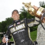 Tony Schumacher is tops in Top Fuel at Bristol.